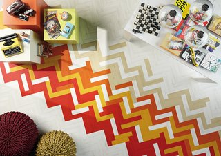 Color Me Mad! - Photo 3 of 31 - The tiles range from $10 to $22 per square foot.