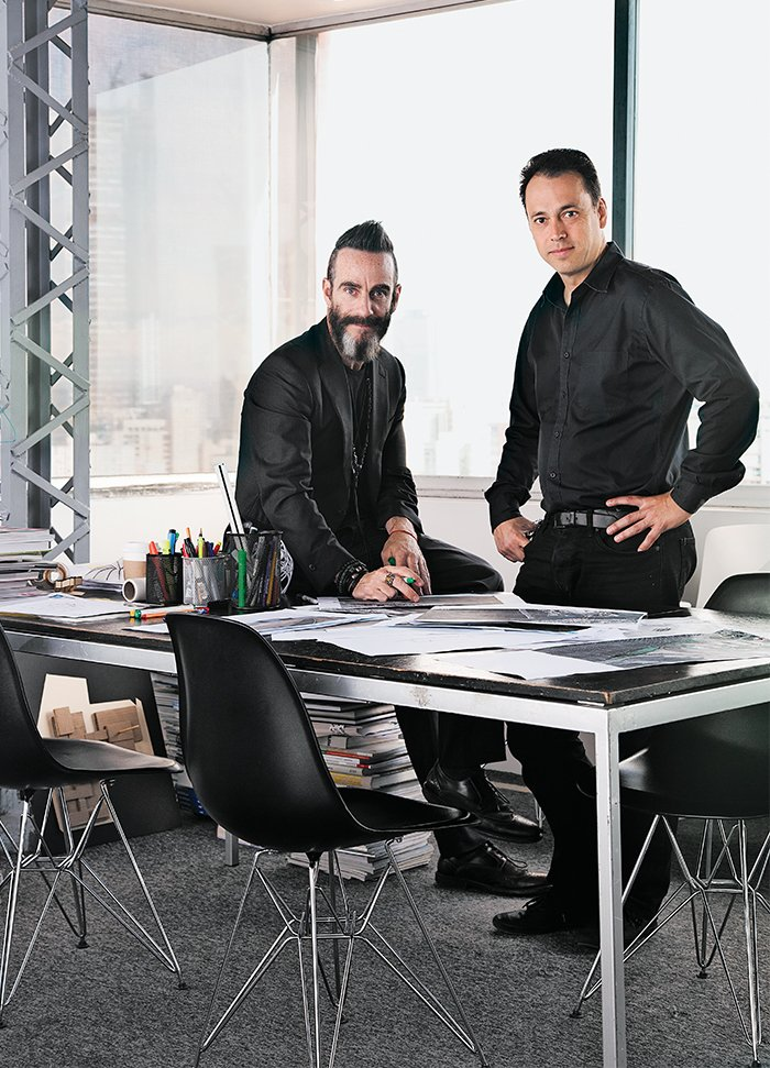 Michel Rojkind and Gerardo Salinas have run the firm together since 2010. See the duo's list of 10 must-visit places in Mexico City here.  Photo 8 of 10 in Rojkind Arquitectos is Transforming Mexico City, One Whimsical Building at a Time