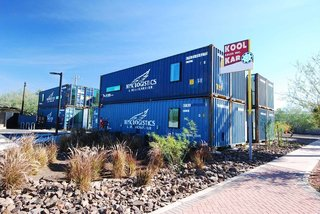 New Shipping Container Apartments Bring Market-Rate Rent to ...