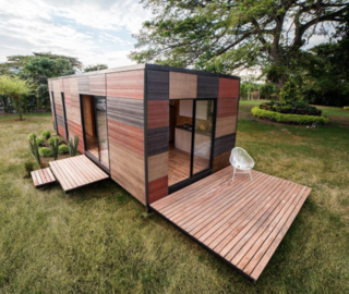 Photo of the Week: Prefab Cabin with Green Add-Ons - Photo 1 of 1 -