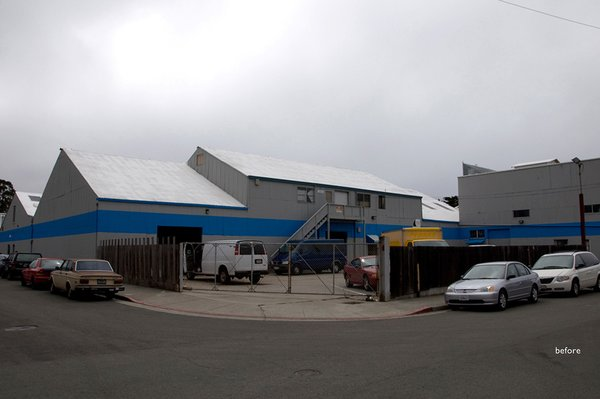This is what the building looked like before Verve moved in. Fuse served as designers and builders of the project, which was key in accomplishing the desired effect.