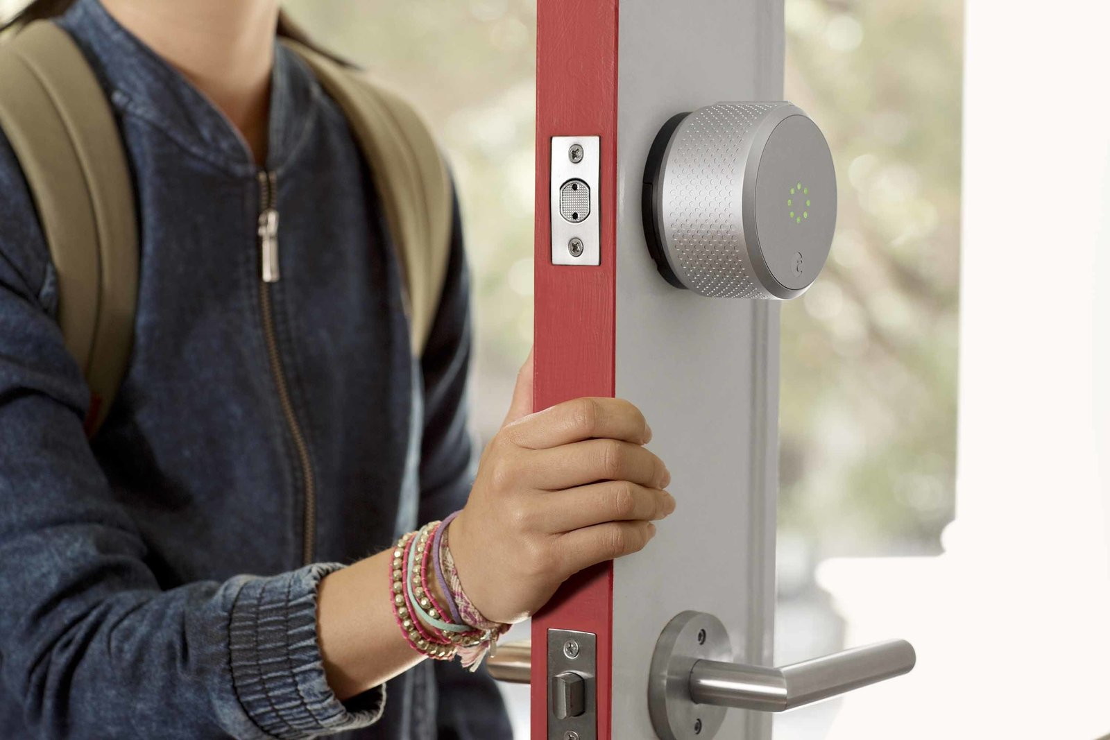 Tech enthusiasts will recognize August Smart Lock as the DIY security device that allows homeowners to create virtual keys for guests to come and go. Design seekers will notice the second-generation lock, soon to ship, has a more tactile, intuitive form profile that resembles a traditional knob. The latest model is also Apple Homekit enabled.  Photo 1 of 6 in 5 Key Elements of Smart Home Functionality from Buzz-Worthy Smart Home Innovations Coming Out of CES 2016
