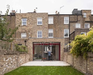 A London Town House Renovation Beaming with Personality - Photo 1 of 8 -