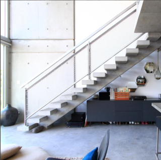 Photo of the Week: Floating Concrete Staircase by Architect Arthur Erickson - Photo 1 of 1 -