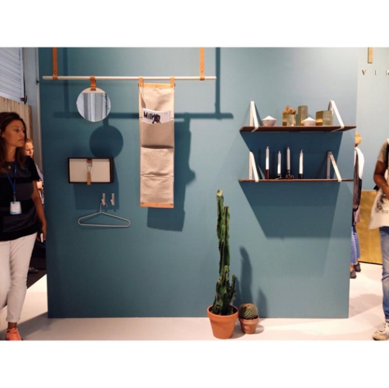 """""""New @sorenrose collection for @fermliving at #maisonetobjet."""""""