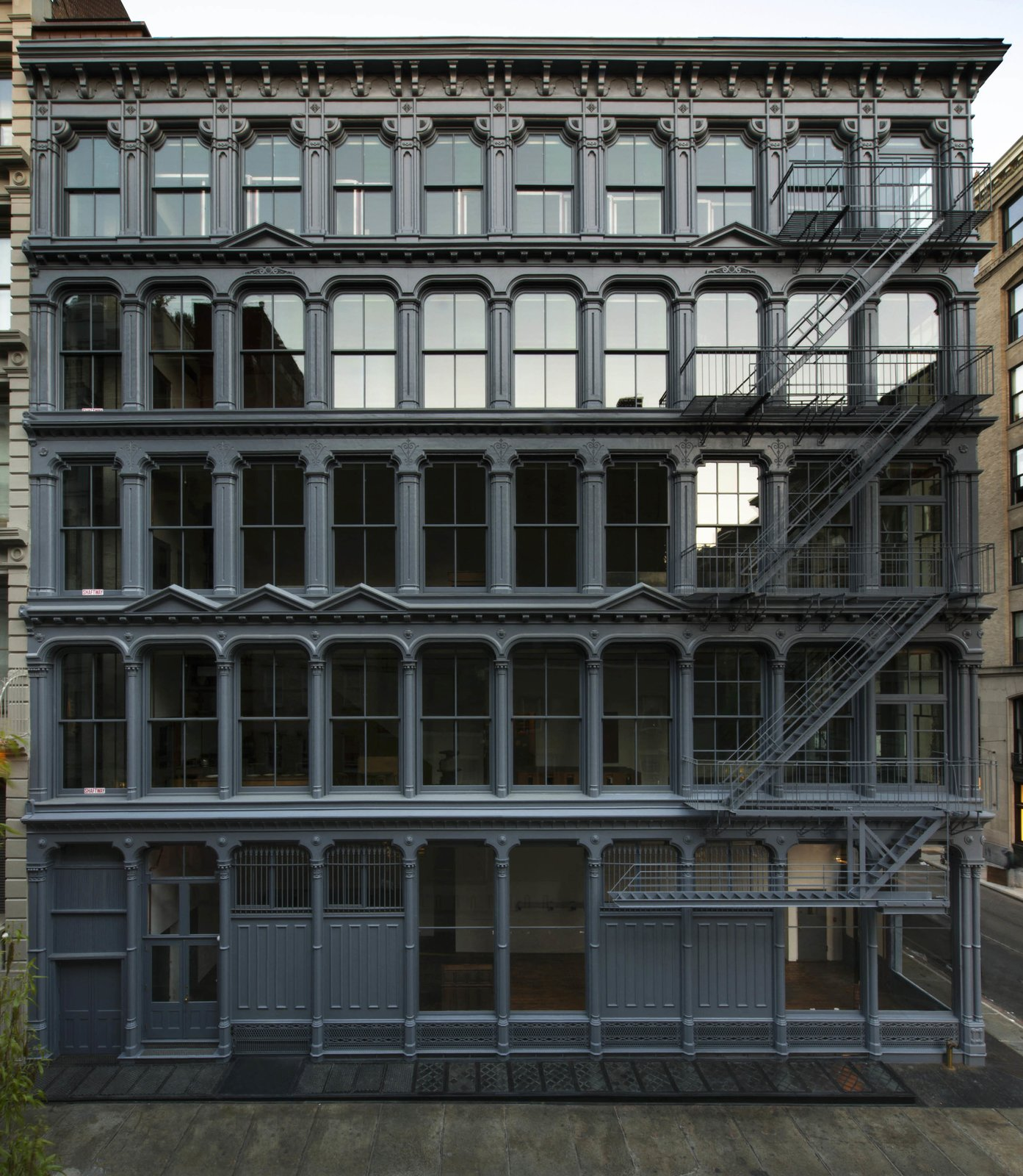 The Donald Judd Home and Studio in SoHo, which recently reopened following a resotration by Architecture Research Office and Walter B. Melvin Architects, will be the Building of the Day on October 20.  buildings by pulltab from Archtober: A Monthlong Celebration of Design and Architecture Returns to New York City