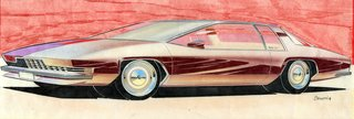 When the Future Had Fins: Fantastical Vintage Auto Drawings - Photo 5 of 7 -
