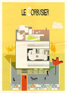 Postcard Set Tells the Story of Modern Architecture from A to Z - Photo 2 of 6 -