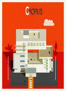 Postcard Set Tells the Story of Modern Architecture from A to Z - Photo 5 of 6 -