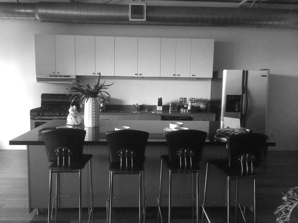 The kitchen before the renovation by Michaelson.