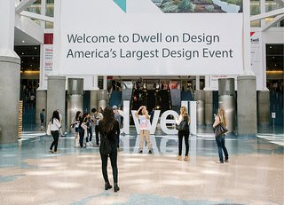 13 of the Biggest Hits from Dwell on Design Los Angeles 2015 - Photo 2 of 13 - Dwell letters decorate the main entrance.