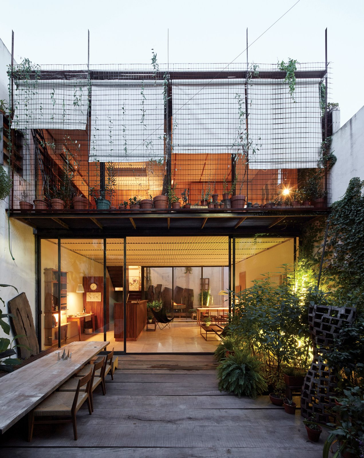 One Of A Kind Furniture Fills This Delightfully Serene Buenos Aires Home