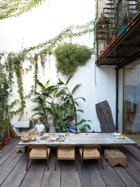 One Of A Kind Furniture Fills This Delightfully Serene Buenos Aires Home Dwell