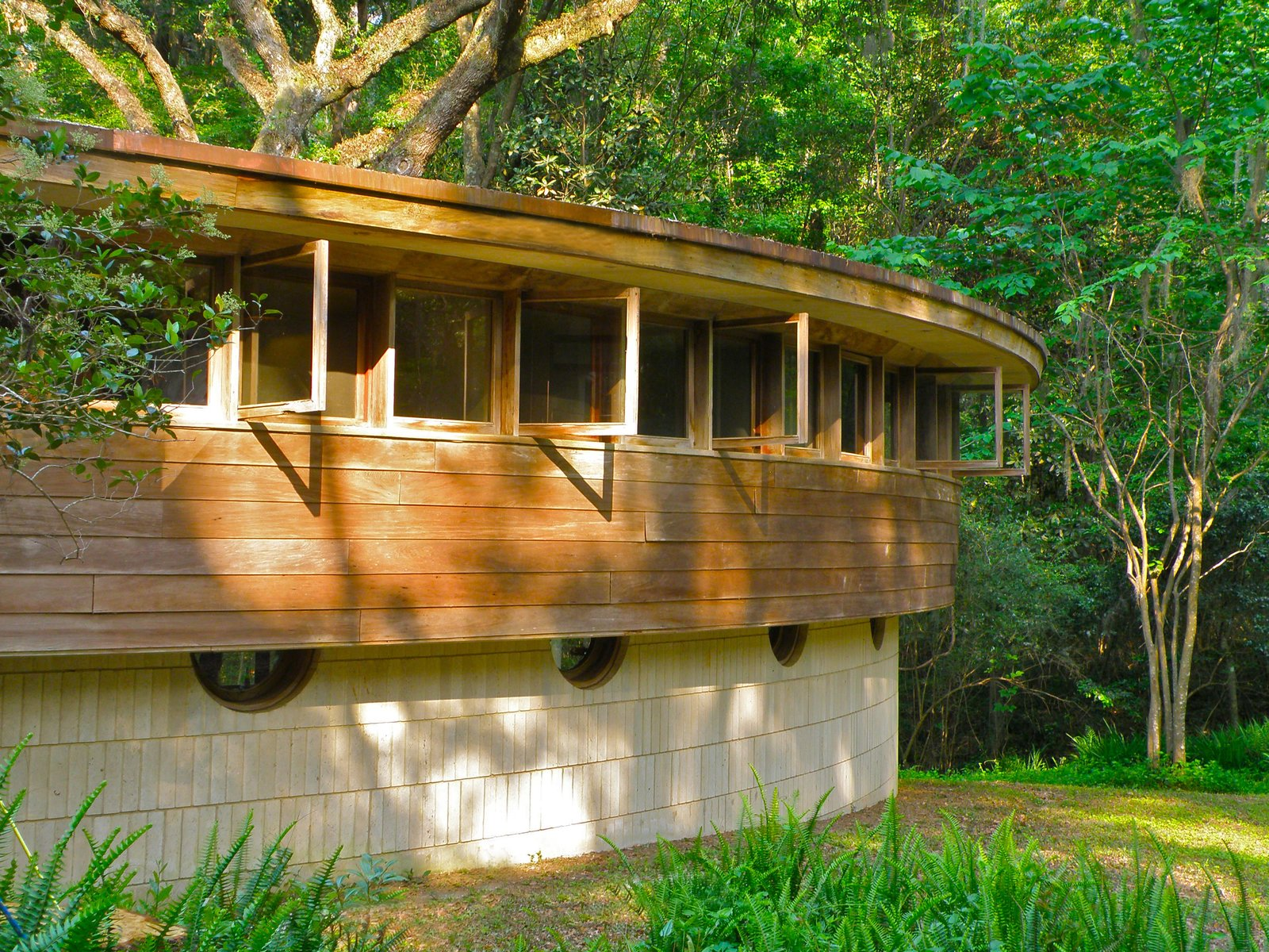 Wright designed a similar style house for his son Llewellyn a year later.  Frank Lloyd Wright's Endangered Spring House  by Allie Weiss