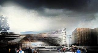 Snøhetta Chosen to Design Le Monde's Headquarters in Paris - Photo 2 of 3 -