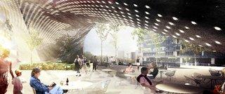 Snøhetta Chosen to Design Le Monde's Headquarters in Paris - Photo 3 of 3 -