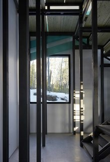 Dozens of Levels Give a Quebec Home Stadium-Sized Views of the Forest - Photo 6 of 7 -
