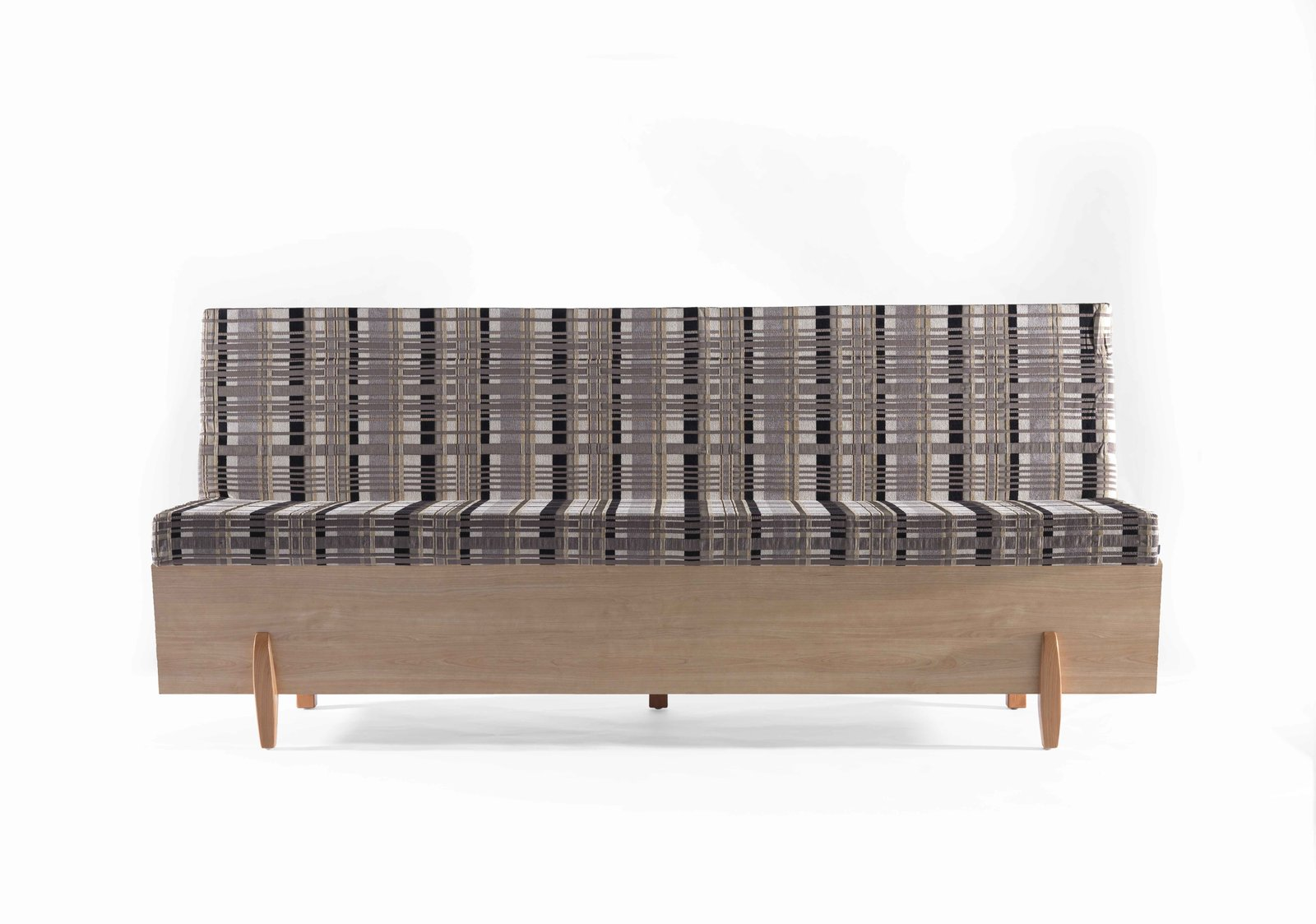 """""""The Safsalit was invented by a Jewish immigrant from Romania named Moshe Pitaro, who worked as an upholsterer,"""" says Snyder. """"In 1962, he created his very first design: an intelligent and innovative sofa that could be converted into a bed, which responded to the practical needs of apartment life in Israel, where everyone lived in very modest quarters, with only fewer than 10% of all apartments having more than four rooms.""""  This is What Design Looked Like in Israel in 1965 by Allie Weiss"""