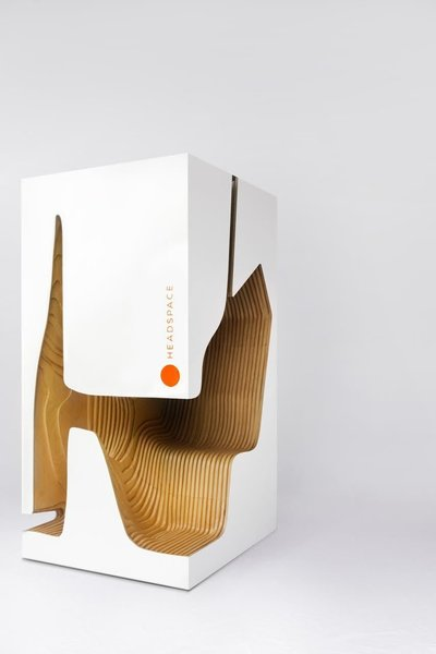Launching later this year, with price upon request, the Meditation Pod aims to trigger a reevaluation of how the built environment supports mental well-being. Learn more at Headspace.