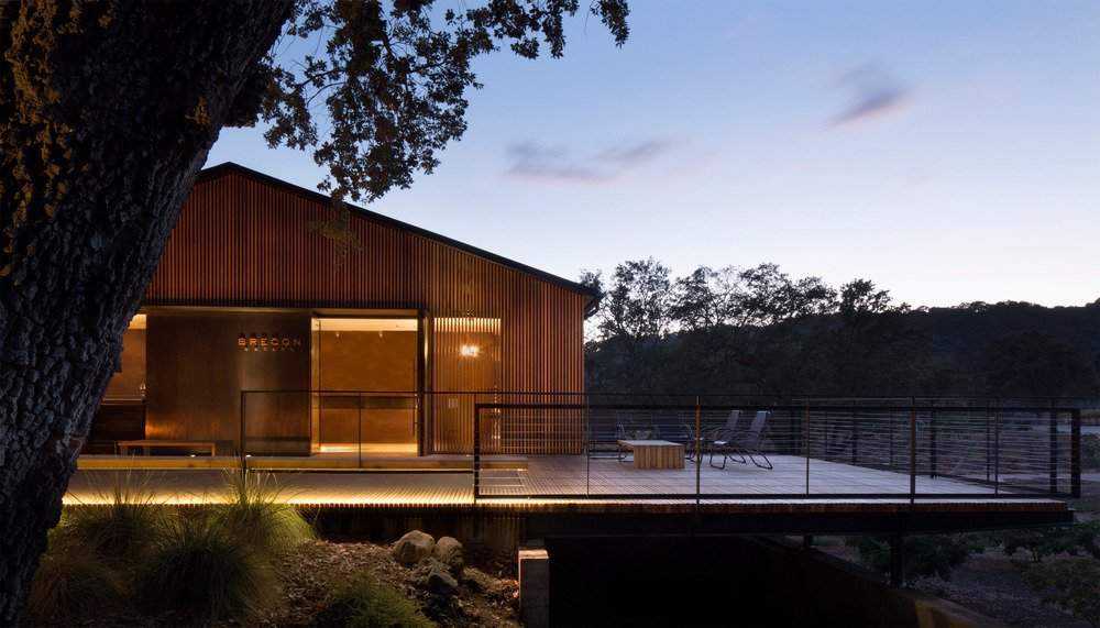 A remodel by Aidlin Darling Design at the Brecon Estate Winery in the Paso Robles wine-growing region of California has won a Merit Design Award for Architecture at the 2016 San Francisco AIA Design Awards.