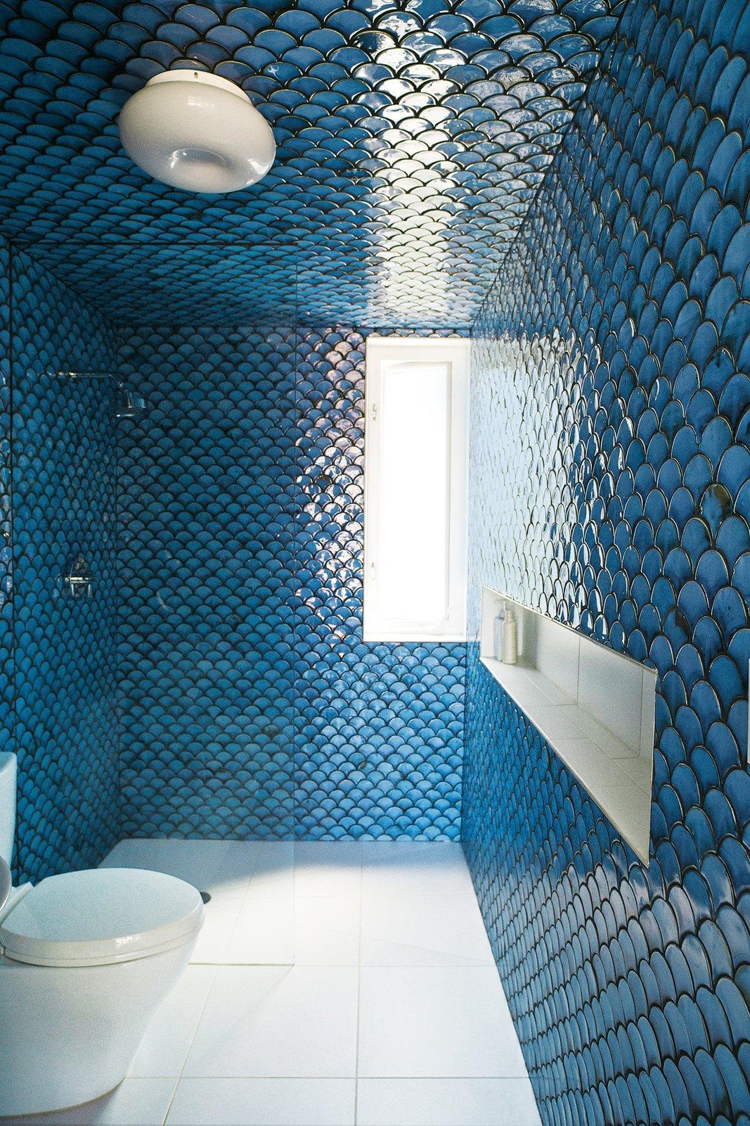 #bath #spa #bath&spa #modern #interior #interiordesign #bathroom #shower #tile #walltile #desimio #renovation  Photo by Paul Barbera  Tagged: Bath Room, Ceramic Tile Floor, and Ceramic Tile Wall. Bath & Spa Intrigue - Photo 3 of 22