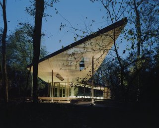 A Look at This Year's National Design Award Winners - Photo 4 of 9 - Architecture Design: Marlon Blackwell Architects Fayetteville, Arkansas-based architect and educator Marlon Blackwell creates structures that blend vernacular and contemporary forms. The Ruth Lily Visitors Pavilion, designed for the Indianapolis Museum of Art in Indiana, picture here, was completed in 2010.