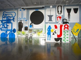 A Look at This Year's National Design Award Winners - Photo 7 of 9 - Communication Design: Geoff McFetridge The output of Los Angeles-based graphic designer and artist Geoff McFetridge takes myriad forms, from whole building facades, to museum installations-like this 2008 multimedia show, In the Mind, at the Seattle Art Museum-to posters, books, and packaging. Through his design studio, Champion Graphics, McFetridge has always maintained an independent practice.