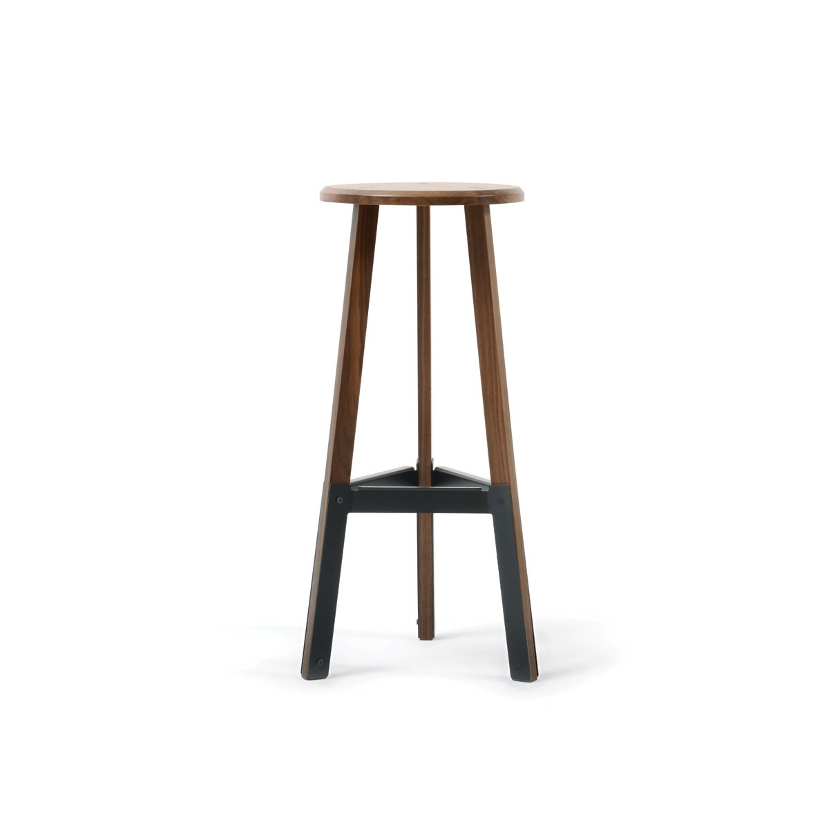#seatingdesign #seating #chair #stool #furniture #design #mortise #tenon #recycled #eco #green #Milwaukee #madeinUSA #modern #classic #walnut #PoetStool #Misewell