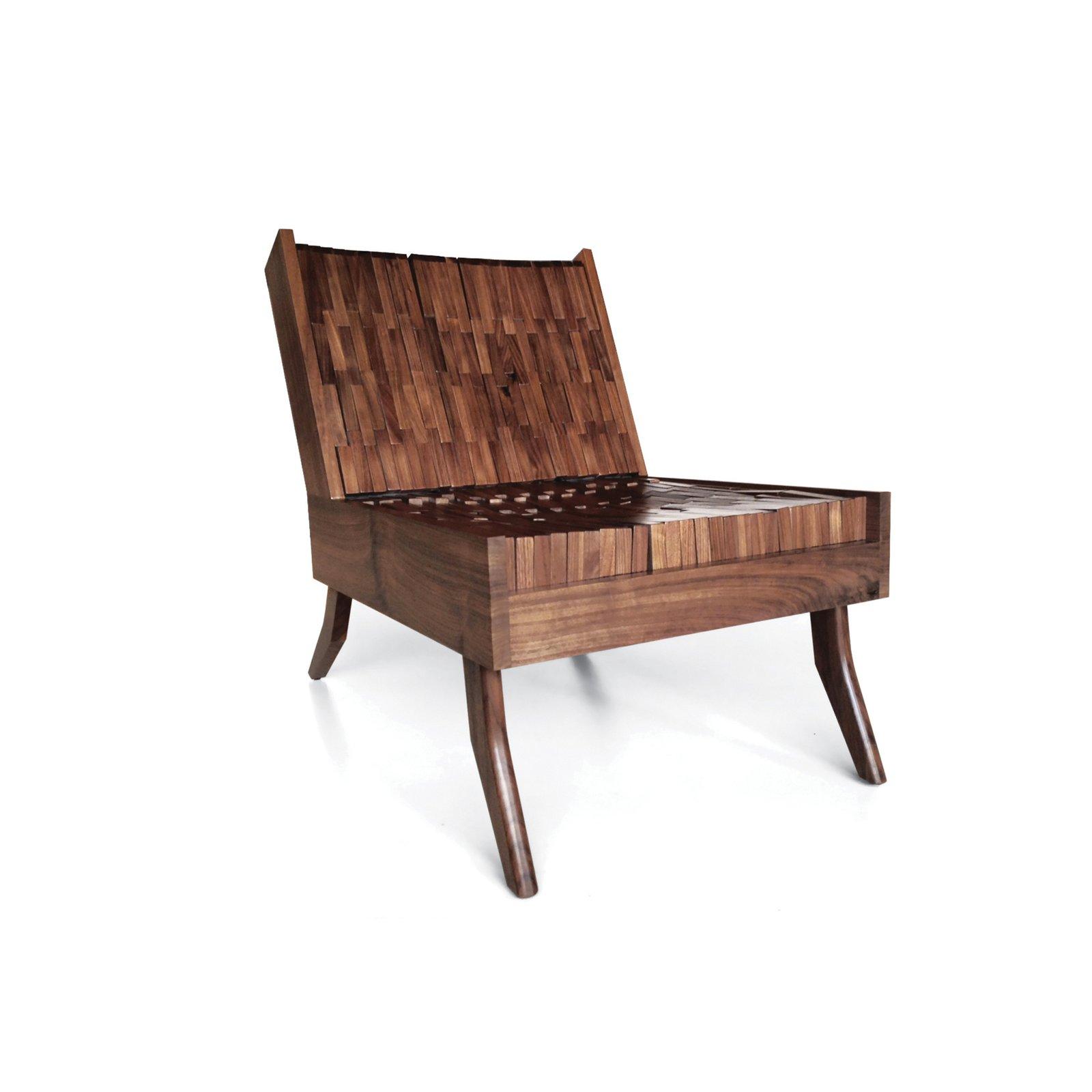 #seatingdesign #seating #chair #furniture #design #walnut #foam #BlockChair #SitskieDesignStudio  #madeinUSA