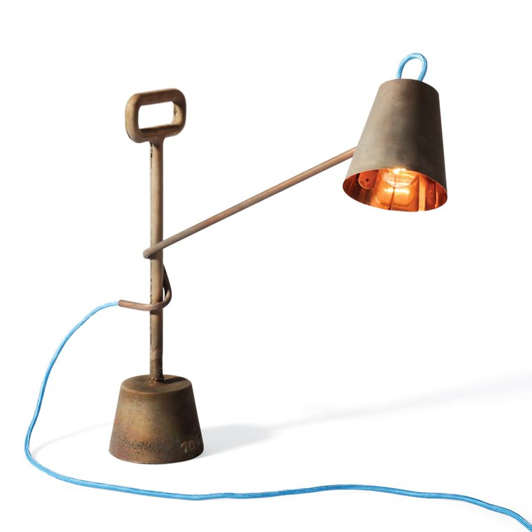 #copper #lamp #lighting #metal #sturdy #whimsical #durable  Designed by Samuel Treindl and Tobias Sieber   60+ Modern Lighting Solutions by Dwell