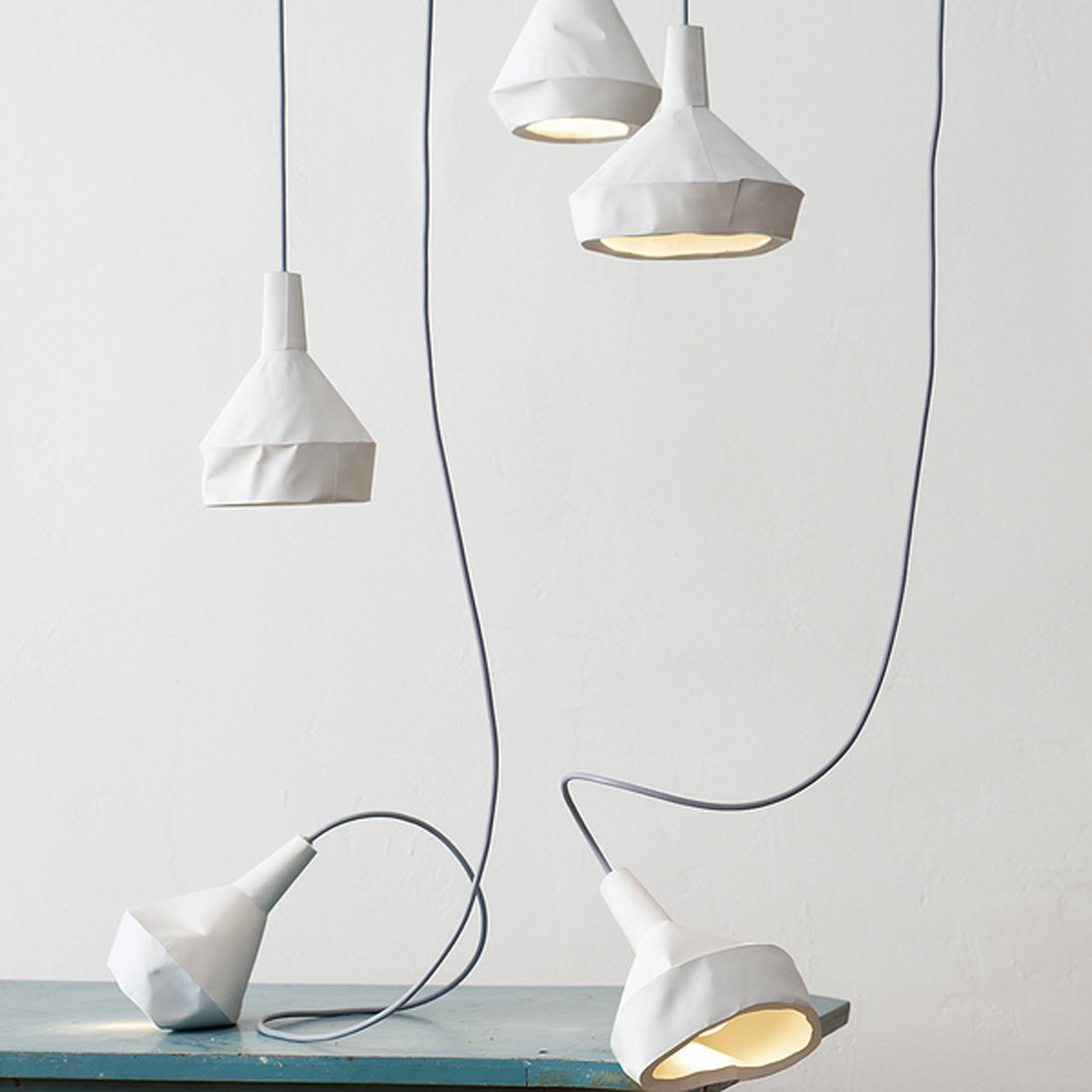 #german #lighting #slewed #concrete #paper #oragnic #aust #amelung  Designed by Miriam Aust and Sebastian Amelung
