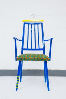 Every Chair Tells a Story - Photo 2 of 5 - Captain Hook by Yinka Ilori.