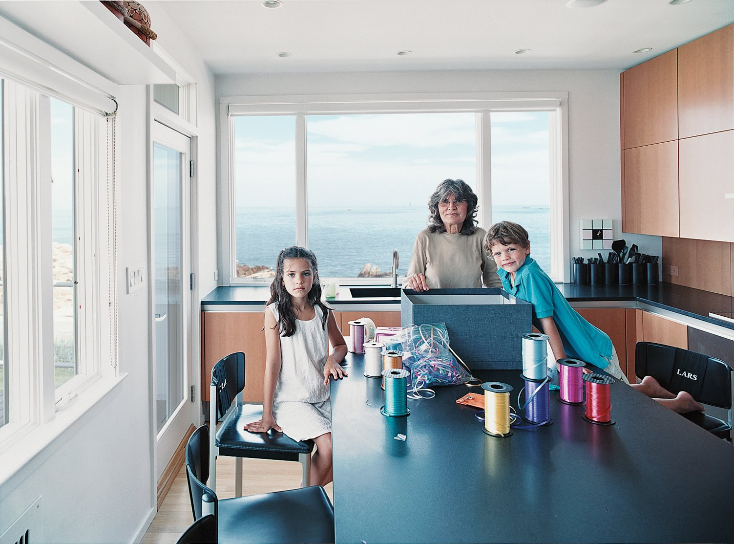 The kitchen is perfect both for eating and for doing projects.  Photo 4 of 9 in Bauhaus by the Sea