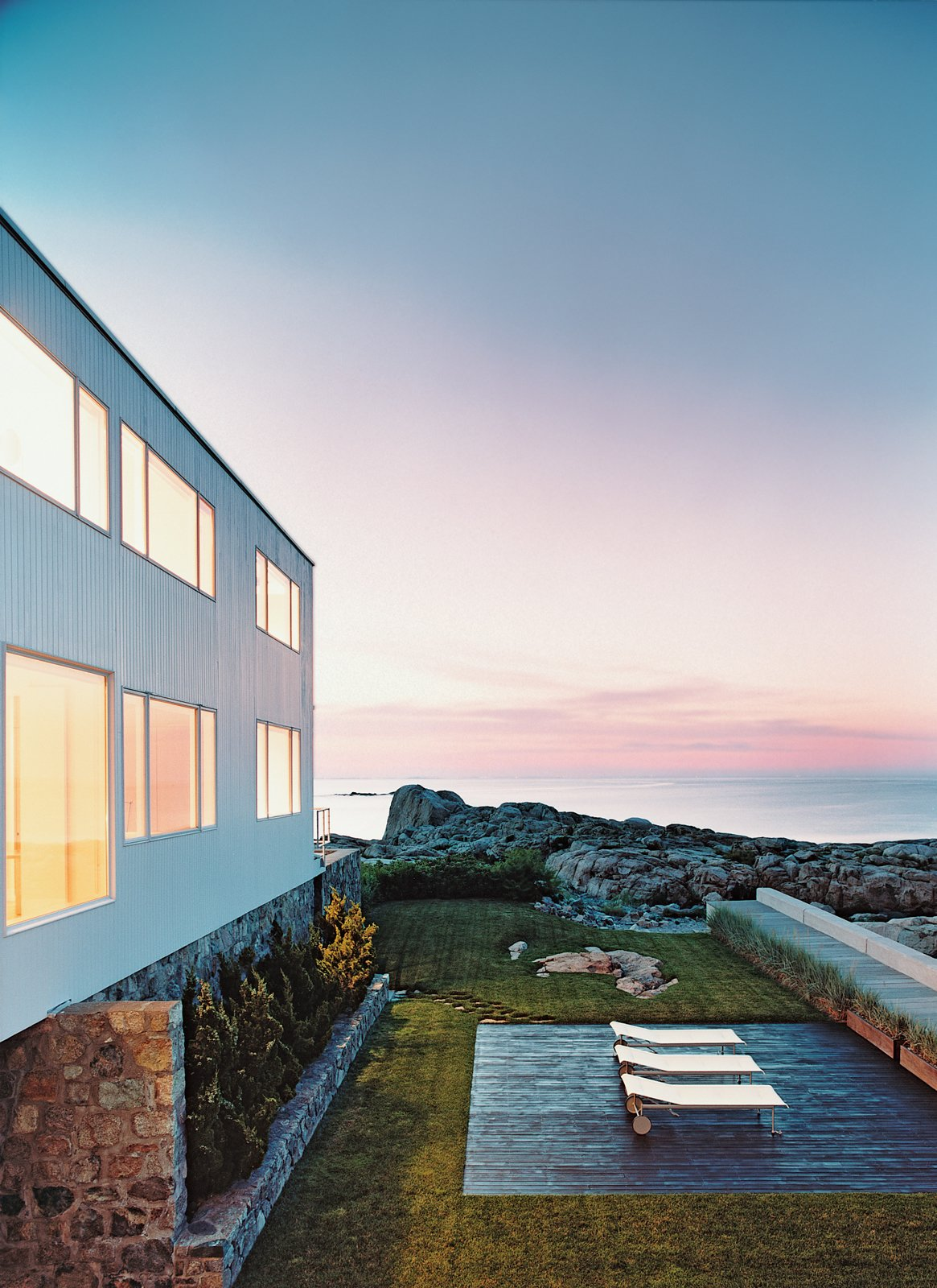 Walter Gropius wanted the Hagerty House, his first commission in the United States, to be as close to the sea as possible. He sited the structure a precarious 20 feet from the shore and let the setting dictate the design. Bauhaus by the Sea - Photo 8 of 9