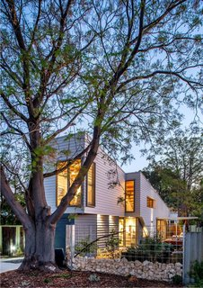 Thin, Mint: A Eco-Friendly House Rises in Compact Quarters - Photo 1 of 5 - The house in Western Australia addresses two main concerns: environmental sustainability and aging in place.