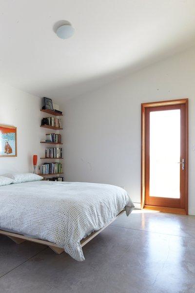 Treanor's bedroom.