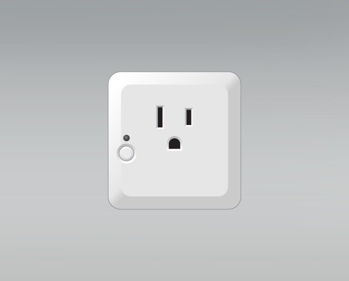 The Appliance Switch turns everyday appliances into smart devices and can also be connected to the SAGE by Hughes app. By placing the switch between an outlet and the chosen appliance, the Huffts are now able to turn them on or off remotely.