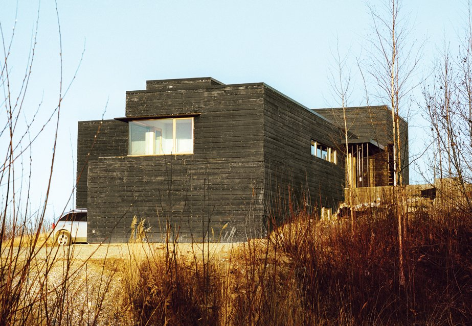 Tagged: Outdoor.  Photo 1 of 20 in This Modern Cabin Is the Ideal HQ For a Family in Alaska