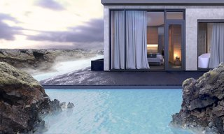Dive Into the Next Phase of Iceland's Blue Lagoon - Photo 3 of 4 - A rendering of the new accommodations illustrate the connection to the site.