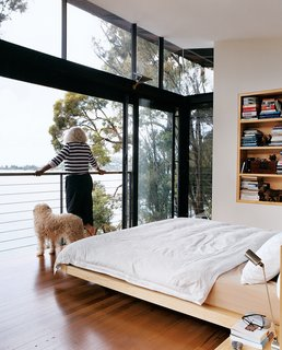 45 Pets in Beautiful Modern Homes - Photo 28 of 45 - Marcia takes in the view.