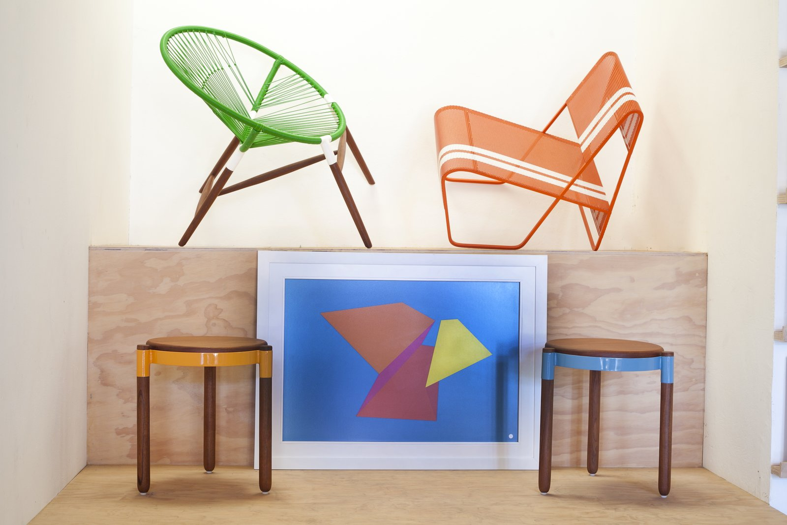 #seatingdesign #seating #chairs #carrot #concept #elsalvador #bright #color  Photo courtesy of Bernhardt Design