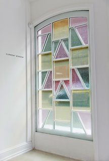 It's Alive! The Stained Glass That Mimics Photosynthesis - Photo 1 of 7 - Marjan van Aubel's Current window, which biomimics photosynthesis to harvest solar energy indoors.
