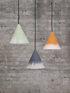 Grow Your Own Designs Like Jonas Edvard - Photo 4 of 6 - The Gesso collection features lamps made from limestone and bio-resin.