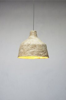 Grow Your Own Designs Like Jonas Edvard - Photo 6 of 6 - The result is a sustainable light made from dried mushrooms.