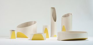 The Ceramicist That Mixes Organic Forms and Technique Together - Photo 1 of 5 - The Sección collection by Heidi Jalkh.