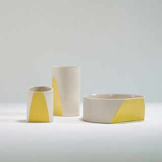 The Ceramicist That Mixes Organic Forms and Technique Together - Photo 2 of 5 - Vessels from the Sección collection.