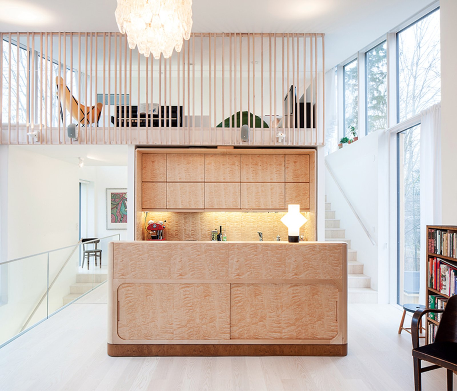 Photo 1 of 12 in This Cozy Finnish Home Would Not Be Complete Without a Sauna
