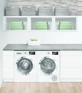 "Bosch's Streamlined Kitchen and Laundry Appliances Are Made for Small Spaces - Photo 6 of 6 - Together, Bosch's sleek 24"" kitchen and laundry suites address the trend toward smaller living by extending modern, European-style design to even the closest quarters."