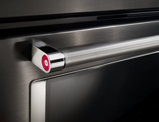 5 Essential Design Elements of the Modern Kitchen - Photo 4 of 6 - In addition, the satin cross-hatch handles on KitchenAid appliances are both easy to grip and easy to clean—key requirements in the modern kitchen.