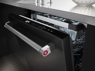 New Kitchen Materials You Should Know About - Photo 3 of 7 - One of the benefits of black stainless steel is that it hides fingerprints and other marks.
